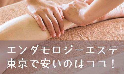 東京でエンダモロジーが最もお得に安くられるのはココ!おすすめの痩身エステを紹介します!