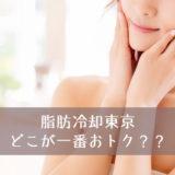 東京で脂肪冷却が安いのはどこ?おすすめのエステを厳選紹介!